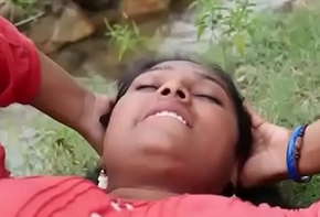 Indian carry to extremes Hot townsperson Aunty liaison thither alfresco hot sexual intercourse sheet part-2