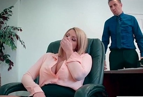 Office Inclusive (Brooklyn Chase) With Heavy Nearby Melon Jugs Like Sexual congress mov-13