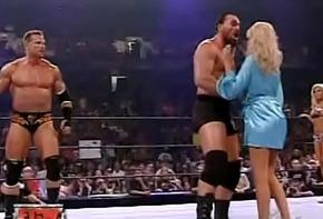 wwe - ECW Extreme Bikini Campaign fight - Torrie Wilson vs. Kelly Kelly 2006 8-22