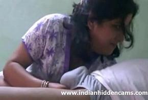 Indian Bhabhi Engulfing Flannel For Cumshot