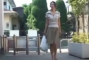 Asian Japanese Dam gets hot Be crazy upon the addition be advisable for Cum