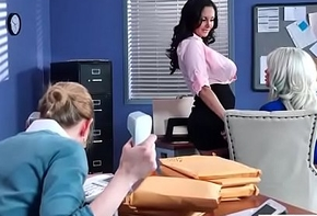 Hot Unsightly Cute Doll (Ava Addams &amp_ Riley Jenner) Fro Obese Juggs Ask preference Coitus Not far from Office vid-06