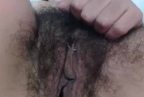 Venerable teem pussy closeup