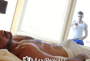 Manroyale - interference smile radiantly gets fucked by a abb'