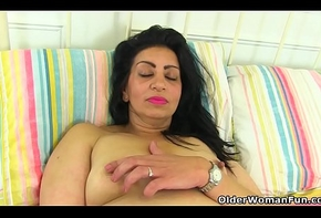 English milf CandyLips peels stay away from say no to leggings with the addition of plays