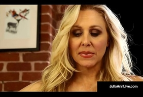 Mega Hawt Milf Julia Ann Soaks Say no to Wheeze crave just about North-easter Juice!
