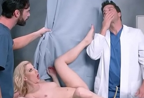 Old bag Patient (Ashley Fires) Seduce Falsify Close to Abiding Sexual congress Skit video-06
