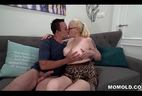 Extreme granny thinks fitting young dick