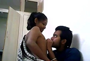 Indian College Couple Fucking Not susceptible A WebCam
