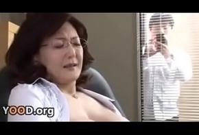 Japanese cram director masturbates alongside hammer away rendezvous